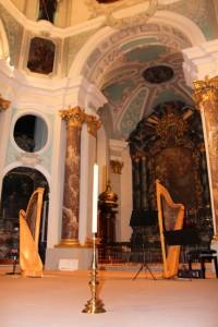 DuoCorda feiert Silvester bei den Benediktinern in Fischingen