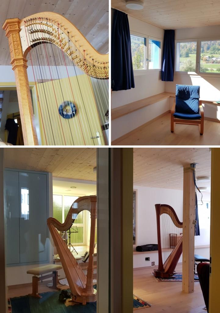 Impressionen des Harfenzimmers